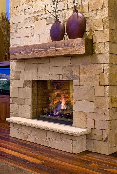 stone and wood fireplace 20 nature loving fireplace ideas