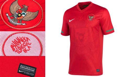 Jersey Sepeda Timnas Indonesia pembuatan kaos bola nike bantah adanya pertemuan dengan pssi hari ini untuk desain baru jersey