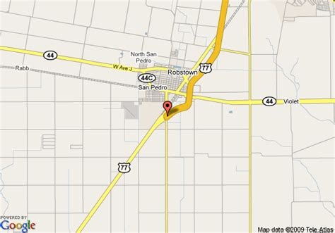 map of robstown texas map of days inn robstown robstown