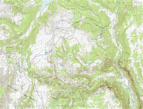 colorado topographic map free conejos peak south san juan wilderness colorado free