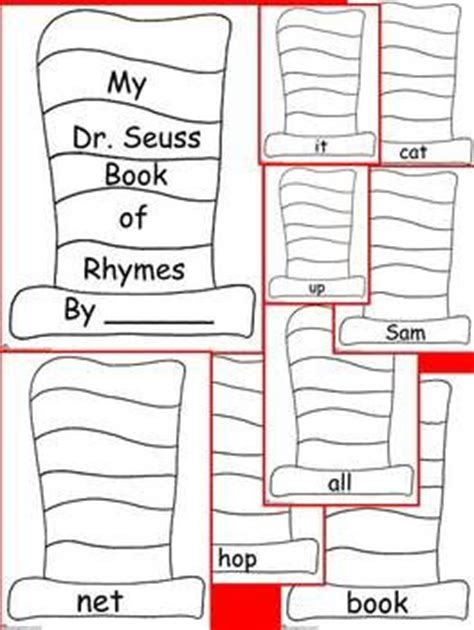 Dr Seuss Essay by Dr Seuss Book Of Rhymes Primary Writing Activity Kinderga Oh The Places You Ll Go