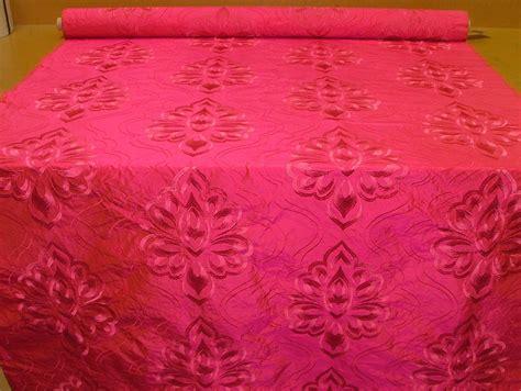 silk curtain fabric nalinia fuchsia pink 100 silk curtain upholstery fabric