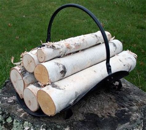 White Birch Fireplace Logs by White Birch Log Set For Fireplace