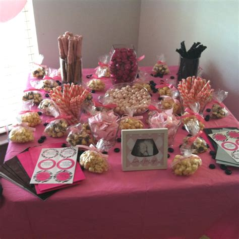 Pink And Black Zebra Party Ideas Rachael Edwards Pink And Black Buffet
