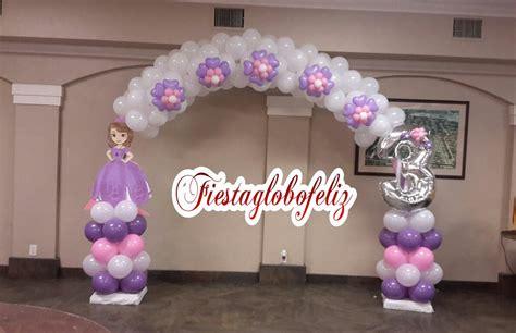 adornos de sofia como hacer un arco de la princesa sofia con globos youtube