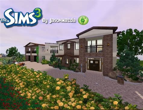 create your own house with the sims 3 program wannasamon the sims 3 house designs modernized tuscan estate youtube