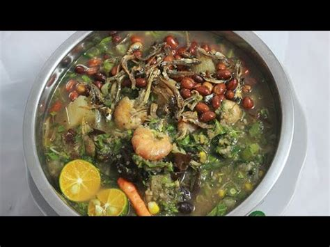 Borneo Mantap kuliner borneo mantap bubor paddas asli sambas