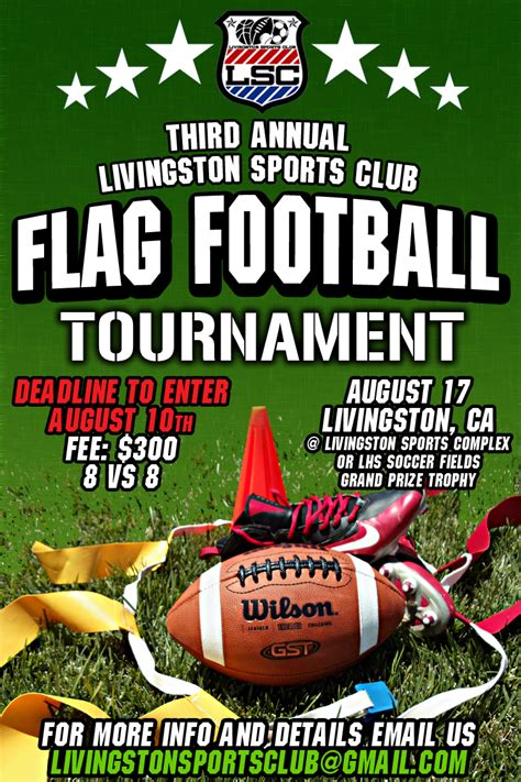 football tournament flyer template lsc flag football flyer hps by hps209 on deviantart