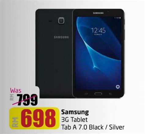 Samsung Tab Wilayah Makassar Lulu Hypermarket Samsung 3g Tablet Tab A 7 0 Black Silver