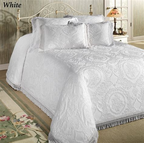 matelasse coverlet king size matelasse bedspread king charles 100 cotton luxury