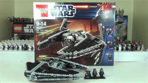 Lego 9500 Wars Sith Fury Class Interceptor lego wars sith fury class interceptor set 9500 review