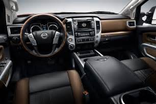 Nissan Titan Interior 2016 Nissan Titan Platinum Interior Photo 48