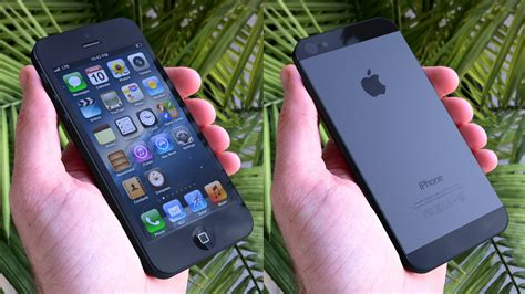 apple pvj this is how the iphone 5 might look in your hand
