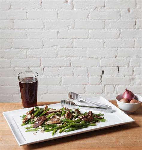 St Sebastian Detox by Cumin Spiced Green Beans With Shiitake Mushrooms Almonds