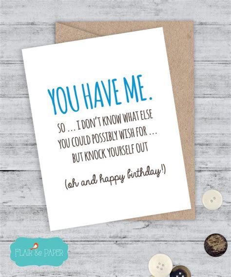 Writes A Rambling Letter To The World Snarky Gossip 9 by Birthday Card Boyfriend Card