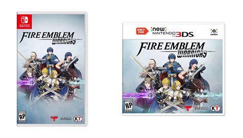 3ds Emblem Warriors Only For New 3ds And 2ds Xl Asia confira a boxart das vers 245 es de emblem warriors