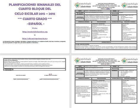 planificaciones de primaria 2016 pdf planificaciones de primaria 2015 2016 cuarto bimestre
