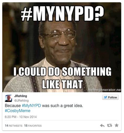 Bill Cosby Meme Generator - bill cosby invite for twitter memes leads to ridicule