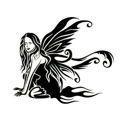gothic fairy tattoos wings tattoos pictures to pin on
