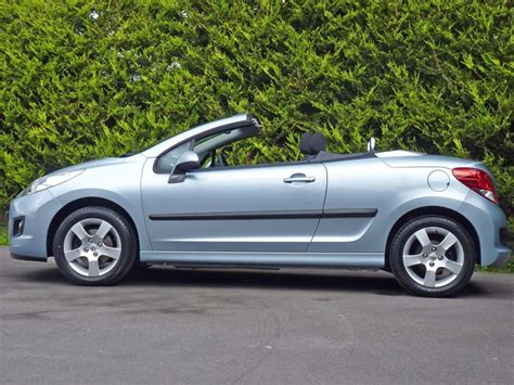 peugeot 207 convertible used ice blue metallic peugeot 207for sale