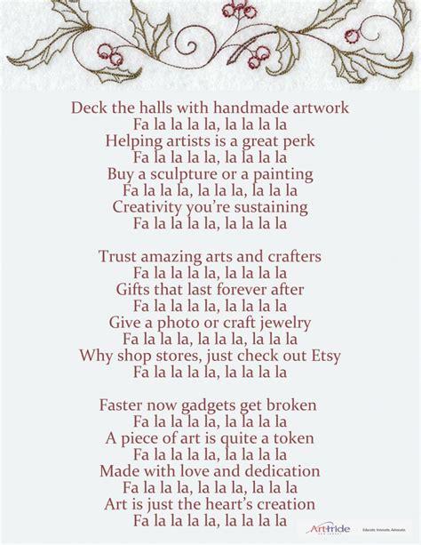 deck the halls lyrics here we come wassailing artpride nj
