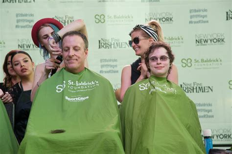 s day cast photos st baldrick s shave athon at new york new york