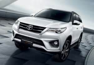 New Toyota Fortuner 2016 Toyota Fortuner Trd Sportivo Unveiled