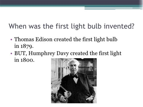 Who Invented The Light by Light Bulbs