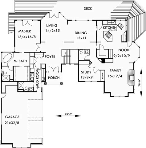 basement entry floor plans house plans side entry garage house plans with shop