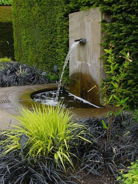 Modern Wall Water Features by Best 25 Wall Water Features Ideas On Water
