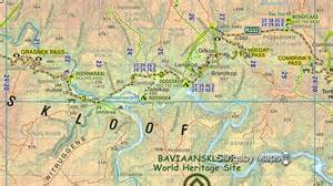 map of for baviaanskloof more information