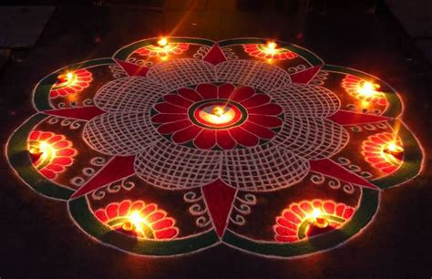 Red And White Bedroom Decor - diwali rangoli designs and patterns latest diwali rangoli