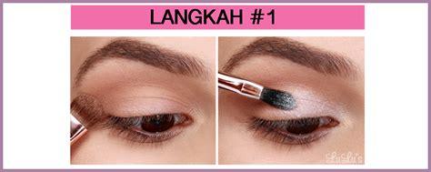 Eyeshadow Dibawah Mata tutorial makeup mata ala popbela date eyeshadow