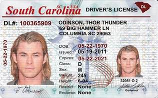 Ohio Drivers License Template by Sc
