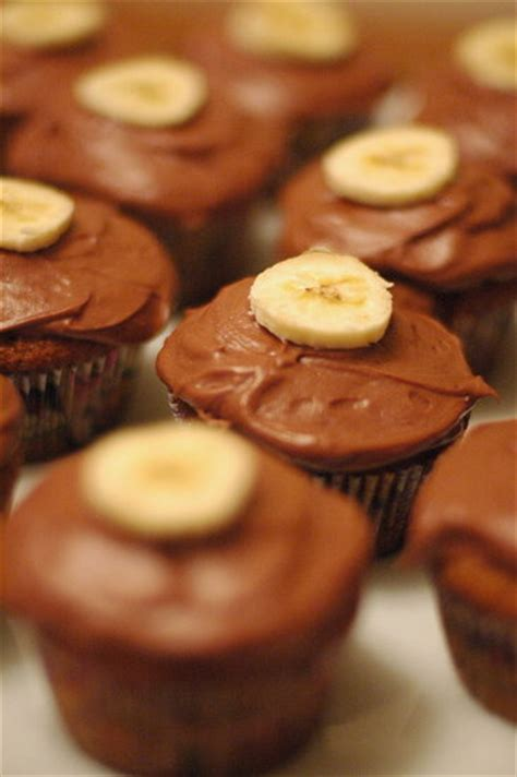 52 Weeks Of Baking Week 52 Gooey Banana Cupcakes by Banana Cupcakes With Dulce De Leche And Chocolate