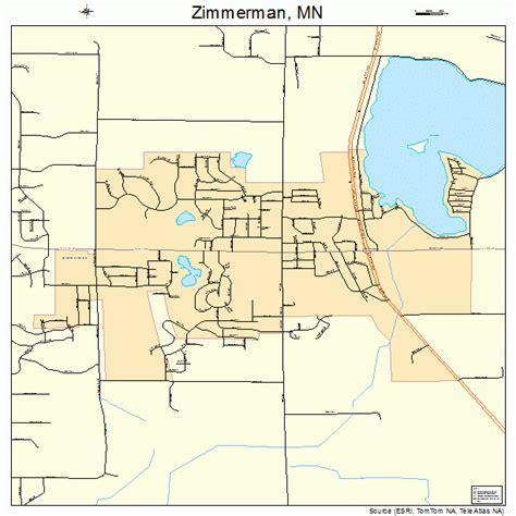 zimmerman minnesota map 2772238