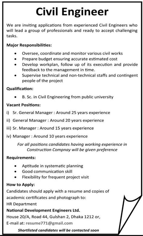 design engineer jobs for civil civil engineers job requirements jobs circular bd