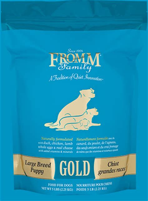 fromm puppy food where to buy large breed puppy gold food fromm family foods