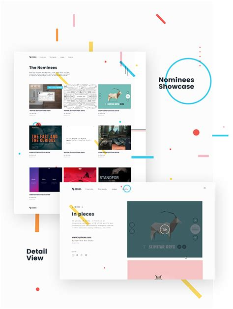 canvas layout css css design awards woty on pantone canvas gallery