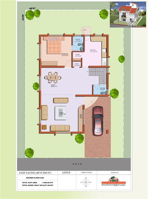 Small House Plans East Vakil Hosur Floor Plans