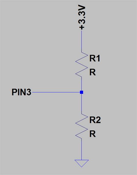 simple resistor divider circuit how to calculate series resistor to provide a certain voltage to a pin electrical engineering