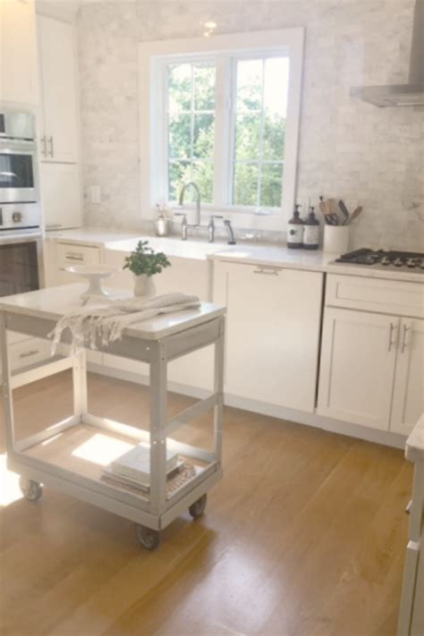 lovely tranquil classic kitchen  kitchen summer