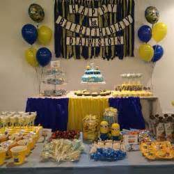 Minions Birthday Party Decorations Minions Theme Party Despicable Me 2 Pinterest Minion