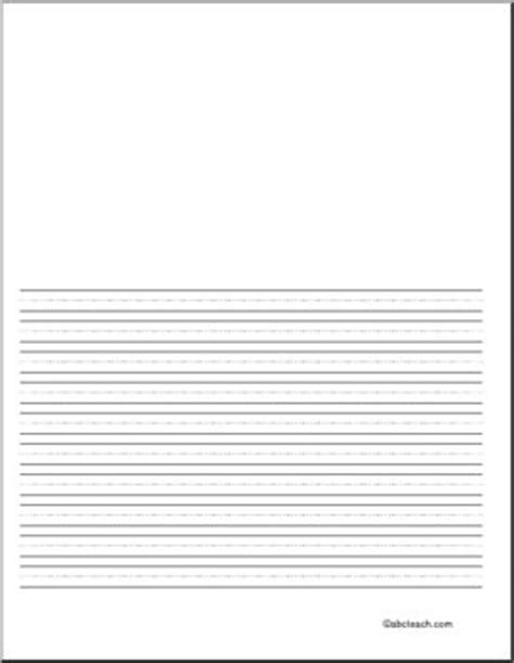 printable writing paper for beginners writing paper blank 36 pt portrait illustration space