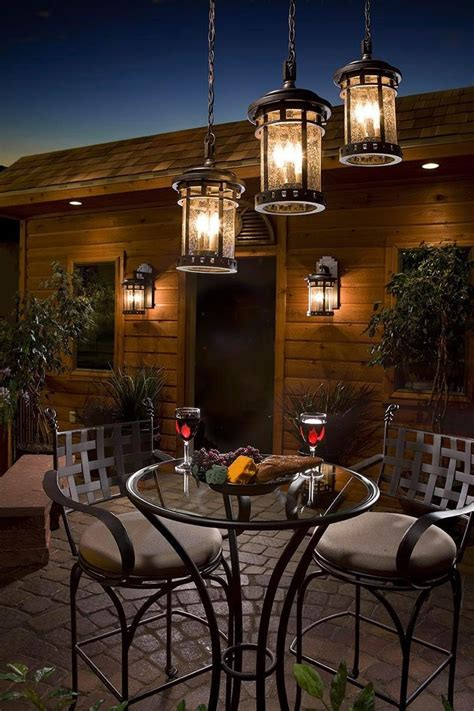 Hanging Lights Patio Outdoor Dinner For Two Dinner For Two Pinterest Dinner For Two