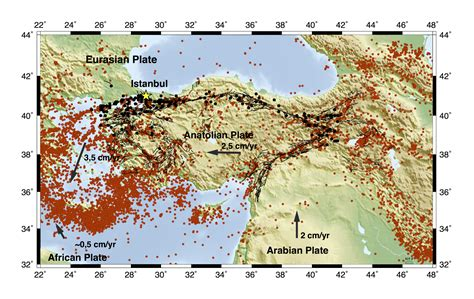 earthquake germany german center gfz on istanbul quake mavi boncuk