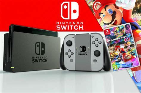 Nintendo Switch Gray Botw Mario Kart 8 Deluxe nintendo switch mario kart 8 deluxe bundle reviewers wanted