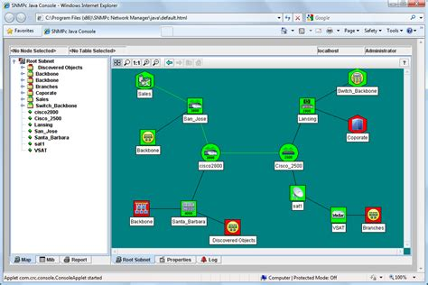 networker management console reliability snmpc enterprise products castle rock