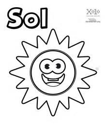 Sol Y La Luna Para Pintar Colorear O Utilizar En Tus Trabajos sketch template