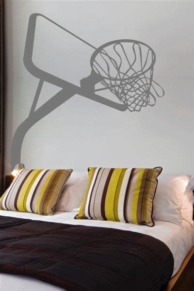 basketball stuff for your room basketball hoop wall decals basketball hoop and walls